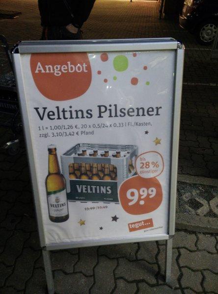 Veltins ab 21.12. für 9,99€ @ tegut Mühlhausen