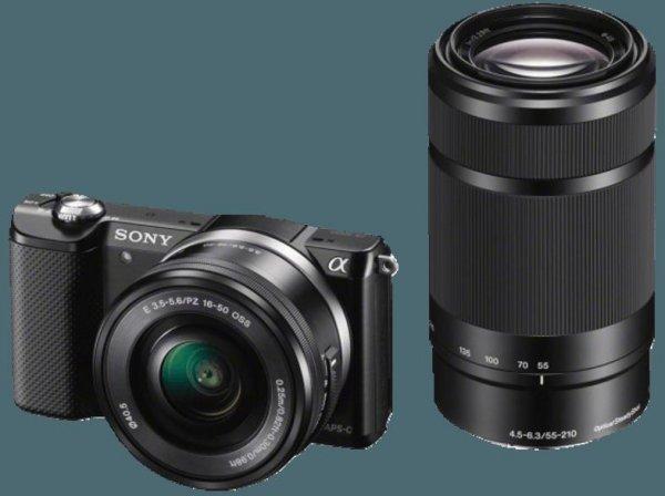 BEENDET - Amazon.fr - Blitzangebot - SONY Alpha 5000 Kit... 16-50 und 55-210.....
