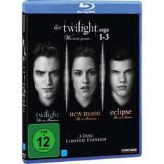 Twilight-Saga 1-3 Blu-ray VSK-frei@redcoon.de für 5,99 €
