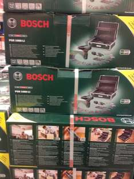 [Bauhaus Bremen] Bosch PSR 1080 LI Toolbox mit viel Zubehör