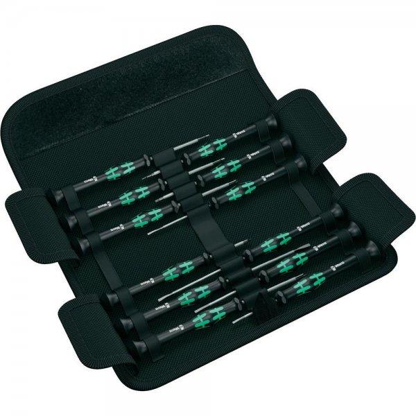 Elektronik- u. Feinmechanik Schraubendreher-Set 12teilig Wera Kraftform Micro-Set/12 SB [CONRAD]