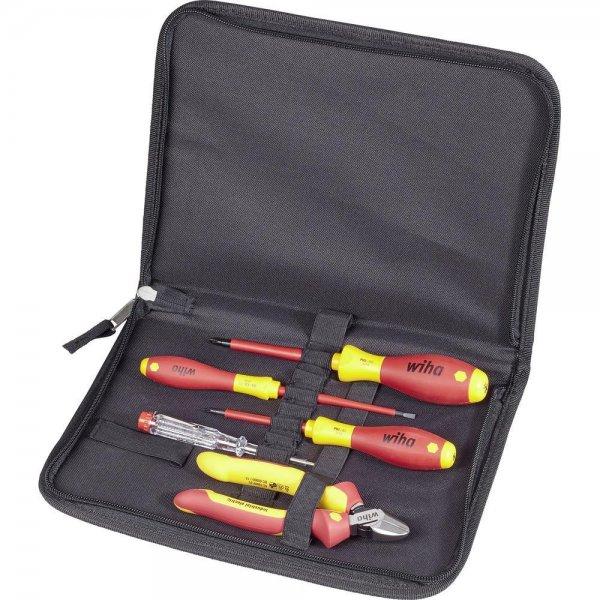 [Conrad] Wiha VDE Werkzeugset 5tlg. inkl. Werkzeugtasche für ~19,50€