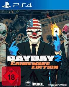 [Coolshop] Payday 2: Crimewave Edition (PS4) für 32,99€
