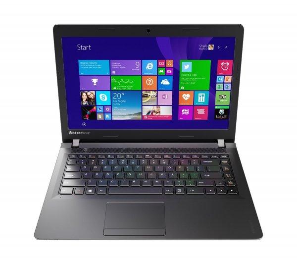 "[Amazon] Lenovo 100 35,6 cm (14 Zoll HD) Notebook (Intel Celeron N2840, 2,6GHz, 2GB RAM, 250GB HDD, Intel HD, DOS) schwarz ""Last Minute Geschenk"""