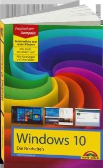 """kostenloses E-Book: """"Windows 10 - Die Neuheiten"""" Markt und Technik Verlag"""