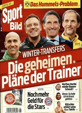 Zeitschriften-Club - 1/2 Jahr Sportbild für 7  €