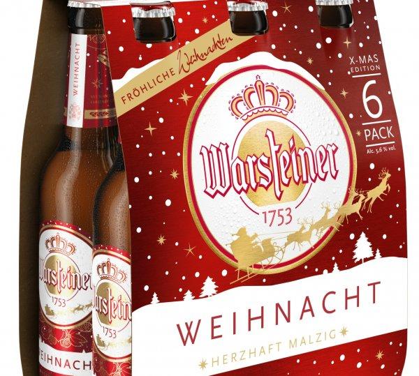[Lokal Kaufland Berlin - Marktstrasse] 6er Warsteiner Weihnachtsbier mit Gewinn (53 Cent) kaufen via Scoondoo