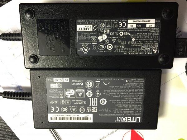 [ebay] Acer Nitro V, VN7 etc kompatibles  (Ersatz-) Netzteil 135 Watt Version! Original Acer Veriton (gebraucht)