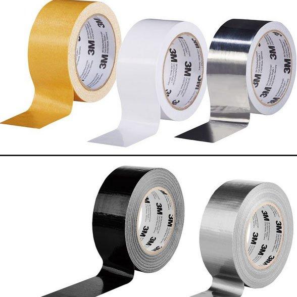 [Lidl]  Packbandset 3-teilig, 3M Klebeband, 3M Gewebeklebeband
