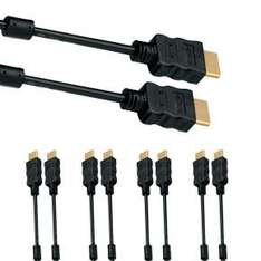 5er Pack HDMI Kabel 1,5m [4K,2160p], vergoldete Kontakte, ARC für 9,65€ @NBB
