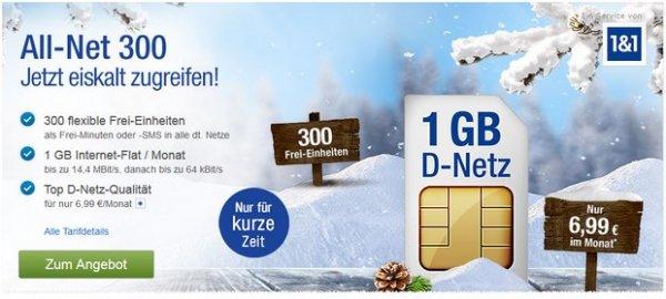 Handyvertrag 6,99 im Monat
