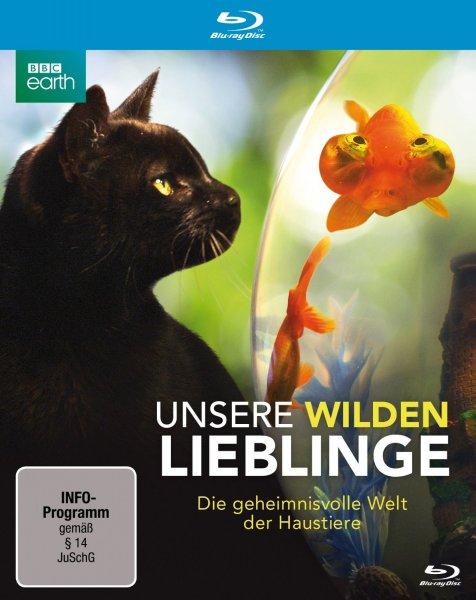 Blu-ray - Unsere wilden Lieblinge (Die geheimnisvolle Welt der Haustiere) ab €1.- [@Mediamarkt.de]