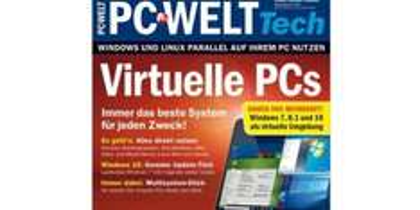 PC-WELT-Sonderheft Virtualisierung