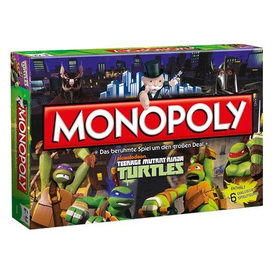 [Real] Hasbro, Monopoly Teenage Mutant Ninja Turtles für 9,99 / Monopoly Transformers retro für 16,99€