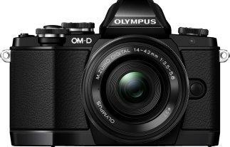 OLYMPUS OM-D E-M10 + Objektiv 14-42 mm + 40-150 mm f/3.5-5.6, f/4-5.6 (16.1 Megapixel, Live-MOS) Systemkamera + 50 € Geschenkgutschein für 499,- VSK-Frei @MM