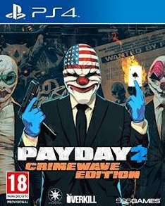 [amazon.co.uk] Payday 2 Crimewave Edition PS4 und Xbox One für 25,42€ inkl. Versand