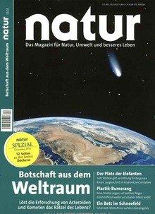 Zeitschrift Natur für 15€ / Vierteljahr = 60€ + 70€ Bargeld => -10€