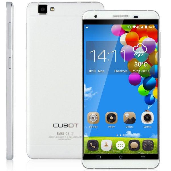 """[Amazon] Cubot X15 (Weiß) für 154.99€ mit Verkauf durch CubotDirect und Versand durch Amazon (5.5"""" Full HD IPS, MTK6735 Quad-Core 1.3GHz, 16MP u. 8MP, 2GB RAM 16GB interner Speicher)"""