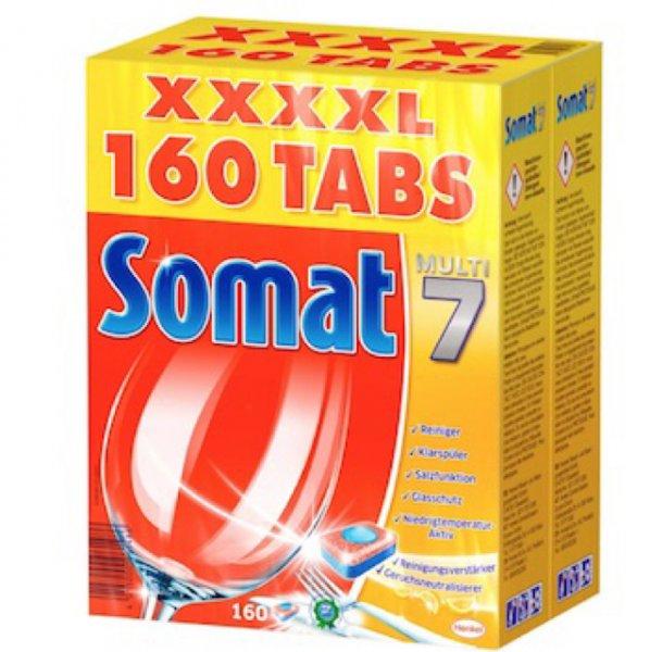 [Amazon.de Prime] Somat Tabs Multi7 160 Stück XXXXL Packung