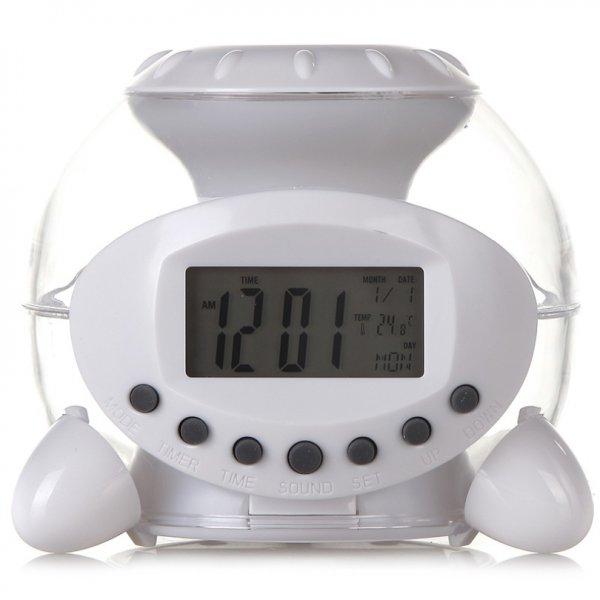 (jd.com) Alarm mit 7 verschiedenen Farben und Temperatur Anzeige für 4,5 €
