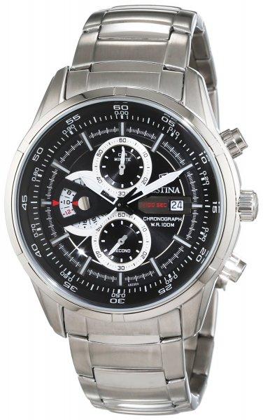 [Amazon.de] Festina Herren-Armbanduhr XL Chronograph Quarz Edelstahl F6823/3 für 115,32€