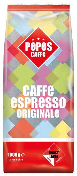 Amazon:  Pepes Caffè Espresso Originale, 2er Pack (2 x 1 kg, ganze Bohnen) für 5,49€ @ Sparabo -> MHD