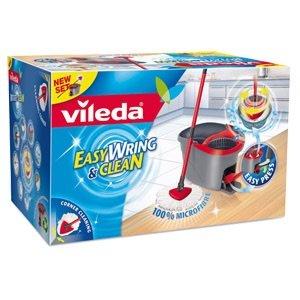 29,95 / 25 im Markt Real Online Vileda Wischmopp Set Easy Wring & Clean