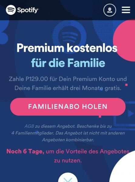 Spotify Premium für 50 Cent pro Monat