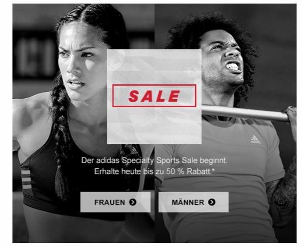 Bis zu 50% im Adidas Speciality Sports Sale