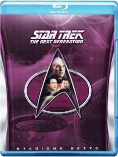 [Amazon.es] Star Trek TNG Staffel 7 BluRay ital. Version mit deutscher Tonspur 20,11€