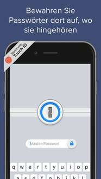 Kostenlos: 1Password für iOS (iPhone & iPad)