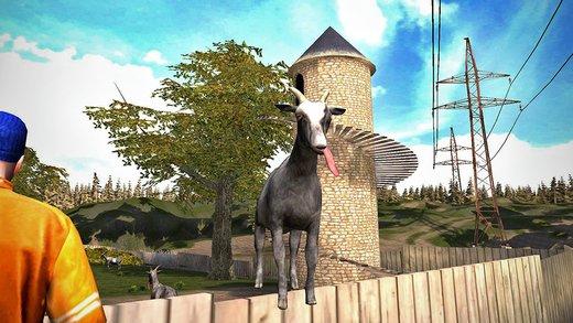 Goat Simulator für iOS und Android kostet derzeit nur noch 0,99 Euro