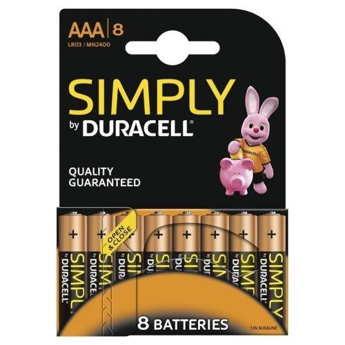 [Risiko] 40 Duracell Micro AAA Batterien für 2,90€ inkl. Versand[onlinedeal24.de]
