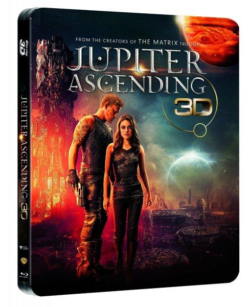 Jupiter Ascending (Limited Edition Steelbook) Amazon exklusiv 3D Blu-ray für 14,97€ @amazon.de [Prime]