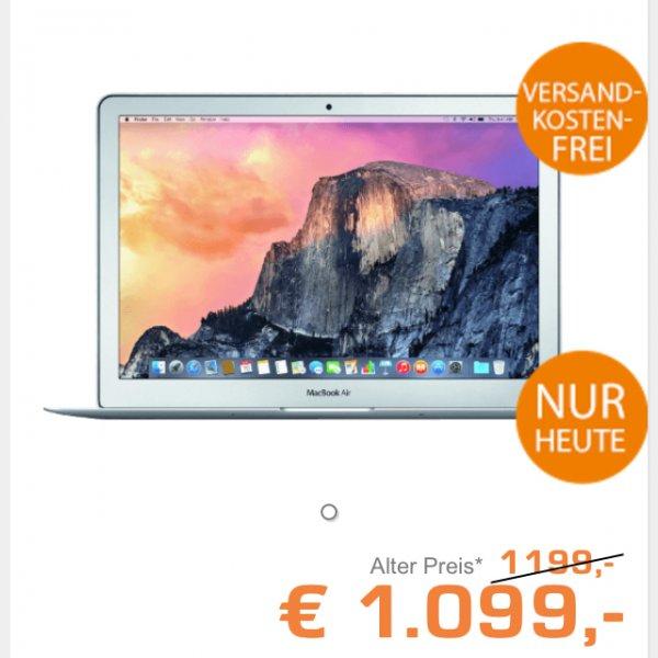 [Online Saturn.de] MacBook Air 13 Zoll, 256gb- speziell für Gutscheinbesitzer ;) 1099€-16,7%= 915,47€