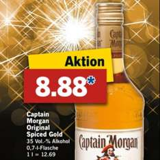 [Lidl] Captain Morgan für 8,88€ ab 28.12
