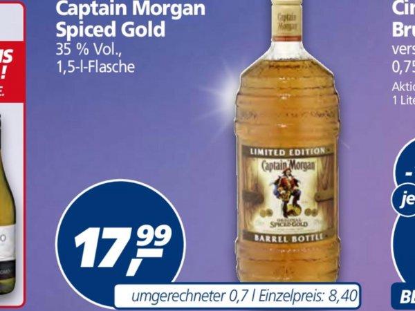 [real] Captain Morgan 1,5 l ab 28.12.