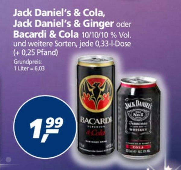 (real) Jack Daniel's Dosen (Cola/Lime)