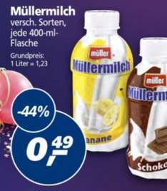Müllermilch 400ml 0,49€ bei Real
