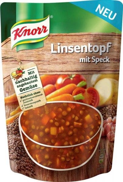 Knorr Linsentopf mit Speck 6er Pack