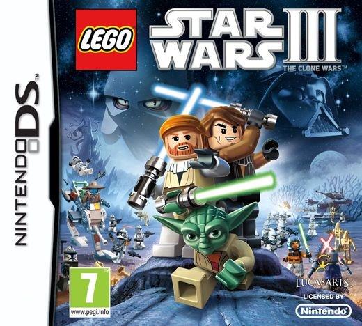 Lego Star Wars III (3): The Clone Wars (Nordic) Nintendo DS
