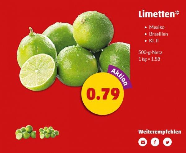Penny (wohl deutschlandweit): 500gr. Limetten für 0,79 Euro