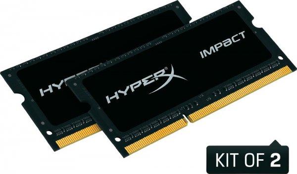 [conrad.de] Kingston HyperX Impact - 16GB (2x8GB), SO-DIMM, DDR3L, 1600MHz, CL9, 1,35V, Dual-Channel-Kit - Arbeitsspeicher für Notebooks und Klein-PCs