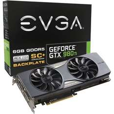 "EVGA Grafikkarte 6GB VRAM ""GeForce GTX 980 Ti Superclocked+ ACX 2.0+"" für 653.95"