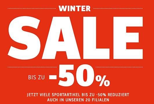 Sportcheck SALE bis 50%
