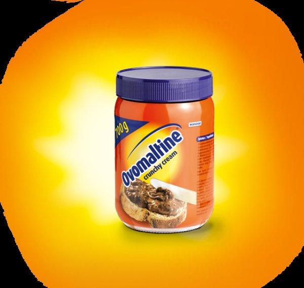 [REWE] OVOMALTINE Crunchy Cream für 2,49 Euro