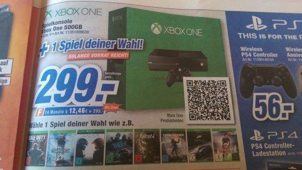 Xbox One + Spiel deiner Wahl bei Expert