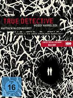 True Detective Staffel 1 Steelbook [Blu-ray] für 16,97 € @ Amazon.de > Prime