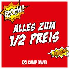 50% vei Camp David im Wintersale