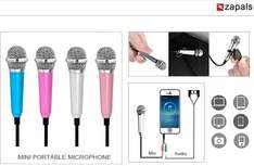 3.5mm Mini Portable Microphone 1,79€ Delivered @ Zapals